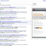 Google SERPs Seitenvorschau auch in Deutschland
